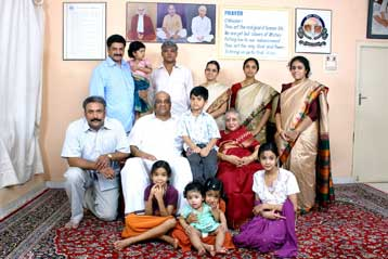 Sri K.C. Narayana family photo